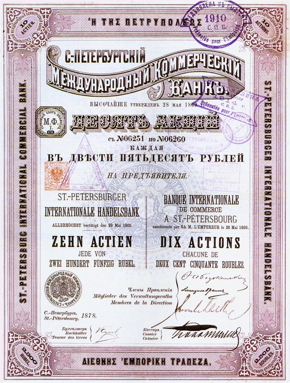 Акция как ценная бумага. рынок акций в россии