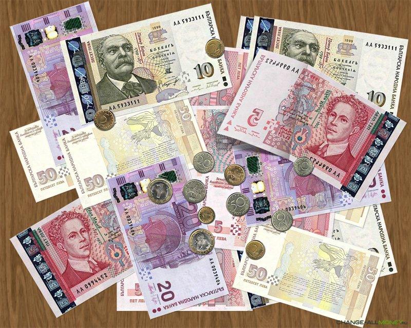 Болгарская валюта и деньги