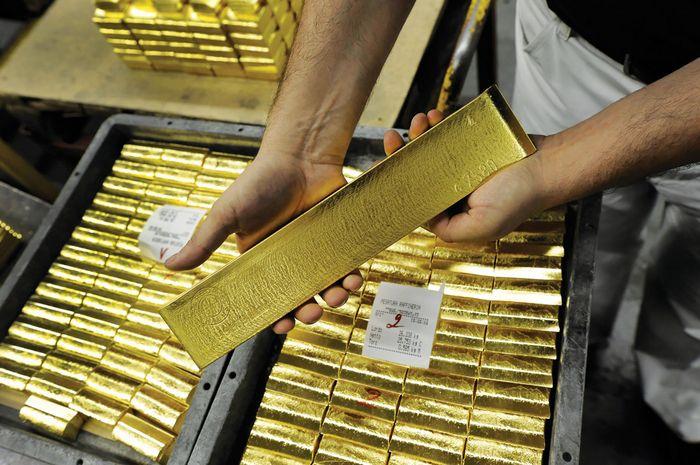 Цена на золото растёт на фоне нестабильной торговли