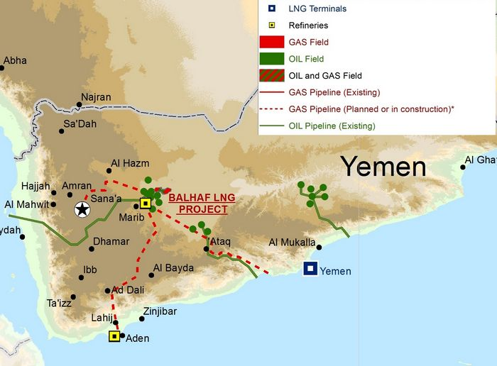 Цены на нефть растут из-за боев в ираке и йемене