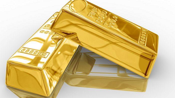 Цены на золото и серебро падают после выпуска позитивных данных сша