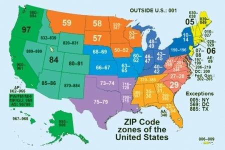 Что такое zip почтовый индекс