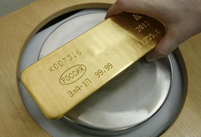 Фьючерсы на золото выросли в преддверии встречи фрс