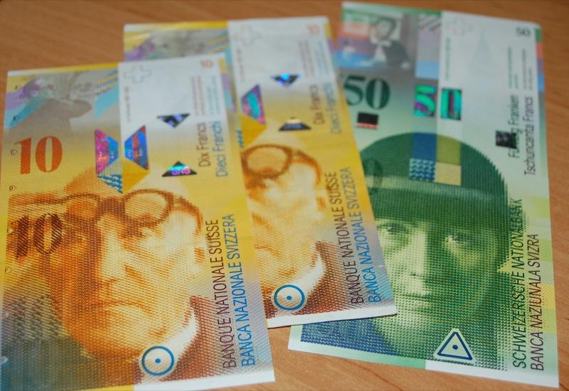Какую валюту брать в швейцарию