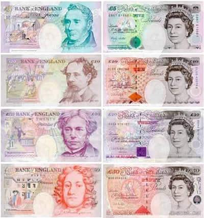 Курс фунта стерлинга к гривне и доллару на сегодня