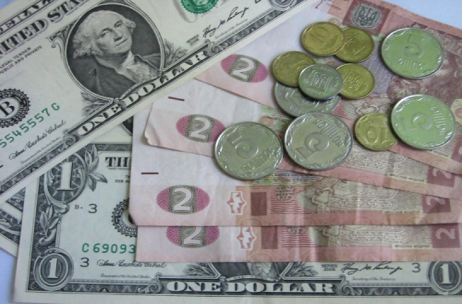 Курс гривны к доллару резкий скачек до 40 гривен за доллар