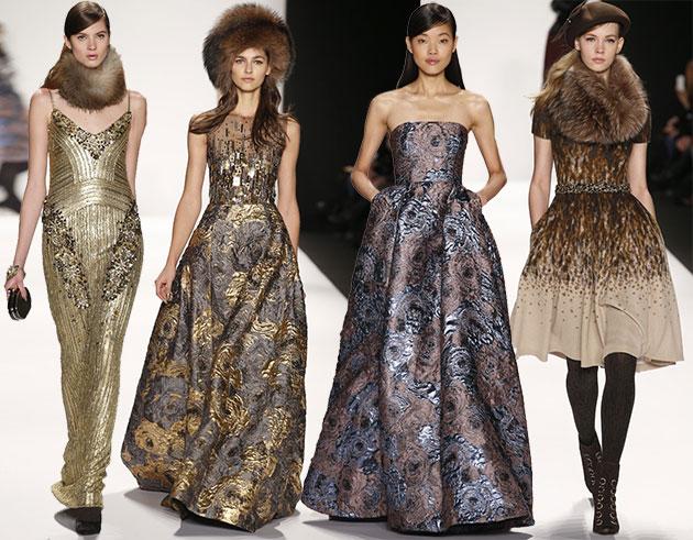 Модные платья зима 2014 2015