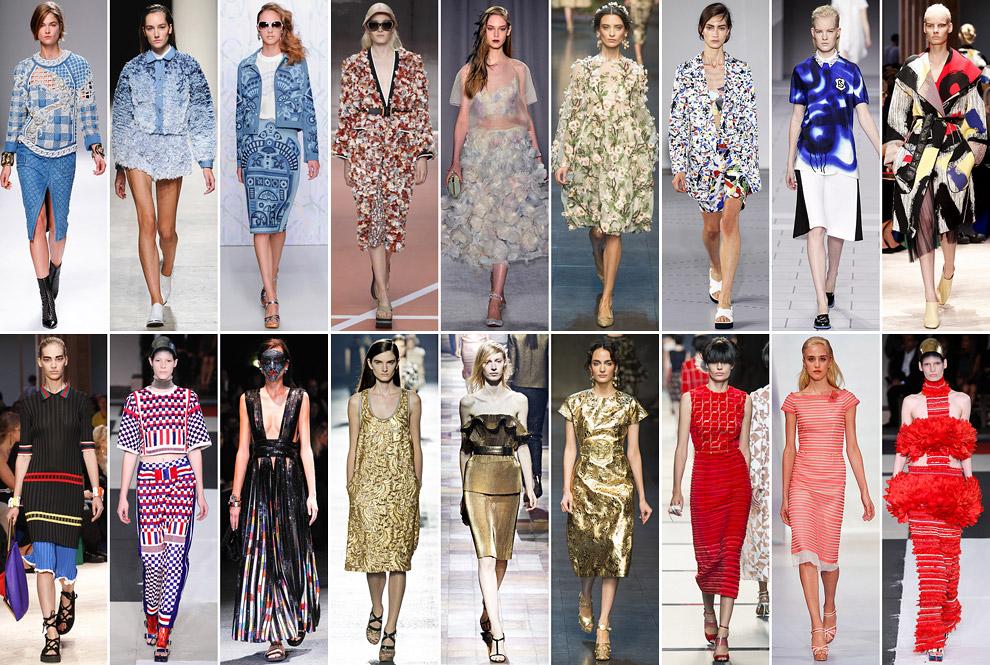 Модные тенденции 2014 года