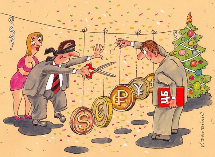 От чего зависит курс валюты (рубля, доллара, евро)