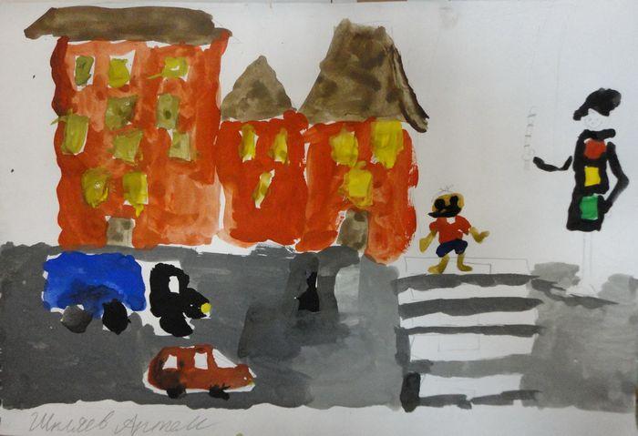 Социальная акция дети против дтп