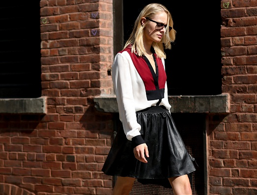 Стильные и модные юбки 2015 года (17 фото)