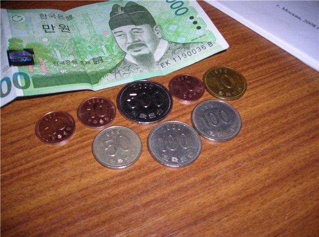 Валюта корейская иена, история возникновения и развития