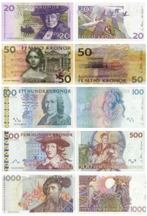 Валюта швеции